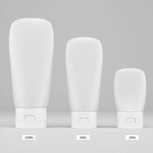 Otun Schlauchrolle Squeeze Flasche Kosmetik Separate Flasche Reise Tragbare Shampoo Bad Lotion Leere Flasche (3PC)
