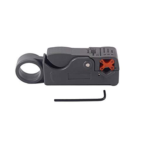 SUPVOX Doppelklingen Abisolierte Drahtzange Mini Tragbare Abisolierzange Abisolierzange Werkzeuge mit Sechskantschlüssel für Musikinstrument -