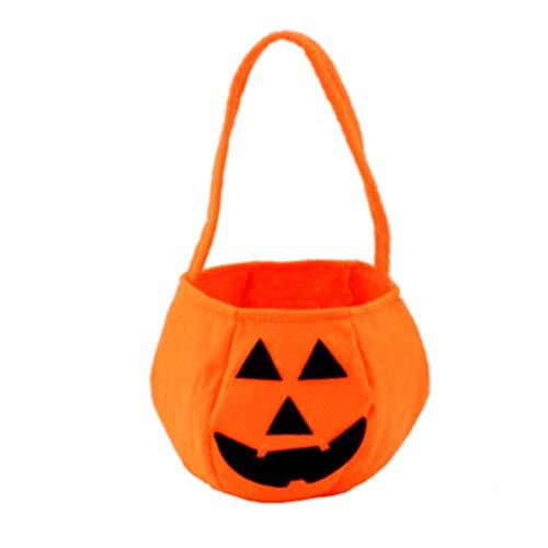 r Schöne Deko Halloween Süßigkeit Sack Halloween-Kürbis-Taschen Non-Woven-Gewebe-Kindertrick oder Taschen Treat ()