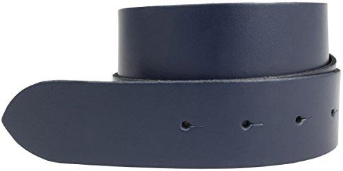 Brazil Lederwaren Wechselgürtel aus Spaltleder ohne Schließe 4,0 cm -