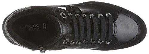GeoxD SNAKE A - Sneaker donna Nero (Schwarz (C9999BLACK))