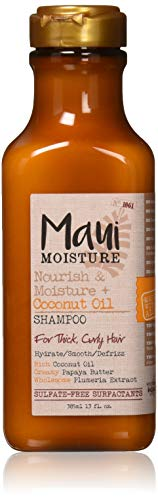 Maui Moisture Curl Quench Kokosöl Shampoo, 385 ml & Maui Moisture Curl Quench Kokosöl Conditioner, 385 ml -