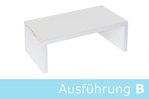 Buch und DVD Einsatz für Ikea Kallax Regal (weiß, Breite 336 mm)