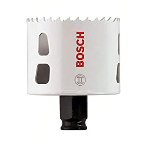 Bosch Professional Progressor for Wood and Metal Sierra de corona (para madera y metal, Ø 60 mm, accesorios para taladro)