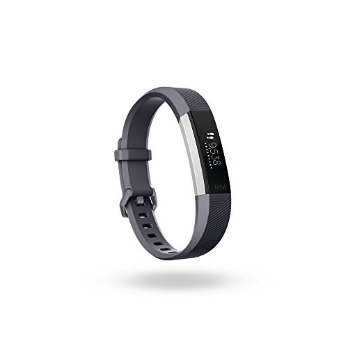 Fitbit Alta HR Activity & Fitness Tracker with Heart Rate, 7 Day Battery & Sleep Tracking - Blue Grey, Large (6.7-8.1 in)