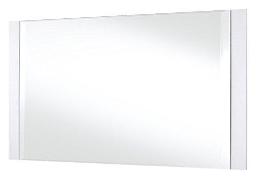 Robas Lund, Spiegel, Garderobenspiegel, Canberra groß, weiß, 110 x 60 cm, CAN44T94