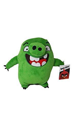 "Angry Birds - Green Pig Leonard Plush - Movie - 28cm 11"""