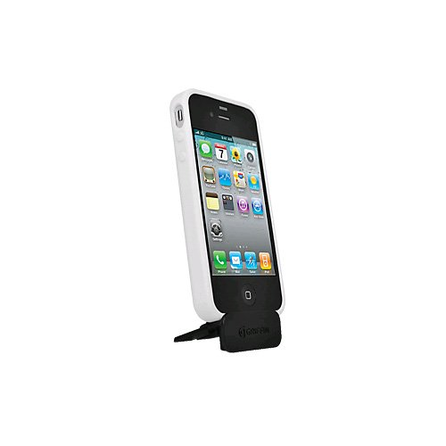 Griffin Reveal Case for Apple iPhone 4/4S with Viewing Stand (White) (Bulk Packaging)  available at amazon for Rs.713
