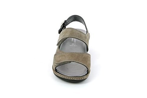 GRUNLAND sandalo DORA SE0072-68 TAUPE (37)
