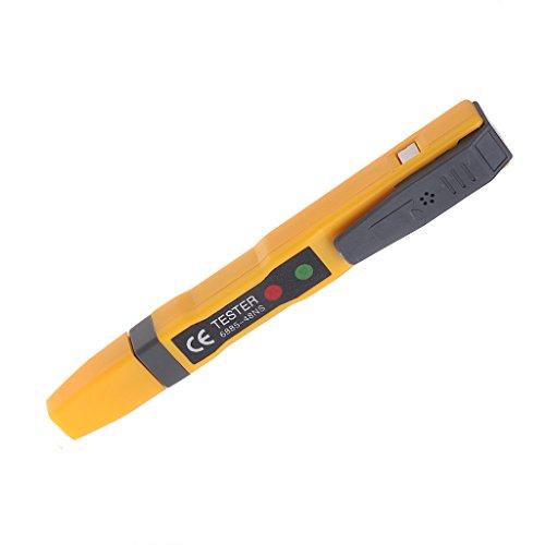 JENOR LED Luz AC Circuito Eléctrico Corriente Tester Volt Alerta Pluma Detector...