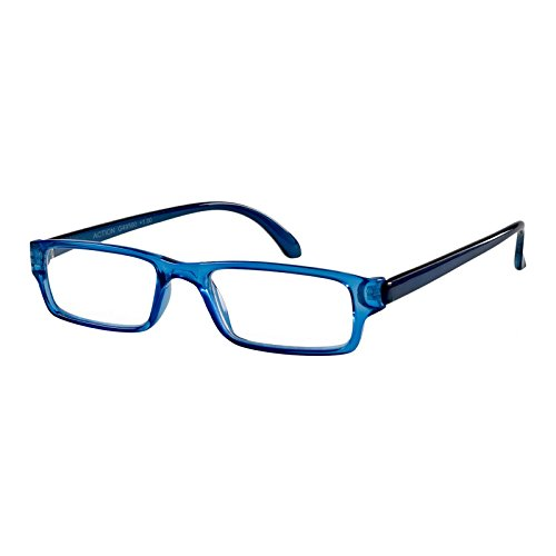 I Need You Lesebrille Action/blau-kristall / +1 Dioptrien