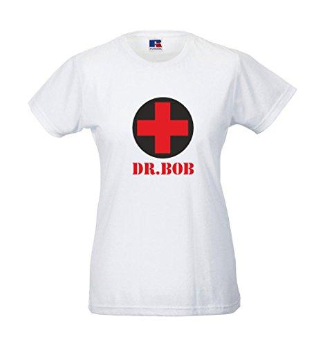 Girlie-Shirt - Dr. Bob Weiß