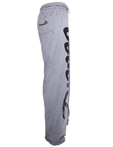 Jogginghose Herren und Damen. Sporthose Djaneo Rio Baumwolle. Hosen in 35 farben. grau und schwarz