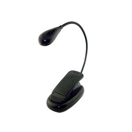 Clip-on Bright 2 LED Reading Light for Read
