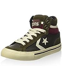 Converse Zapatillas abotinadas Pro Blaze Hi Leather/Suede Negro / Verde Militar EU 28