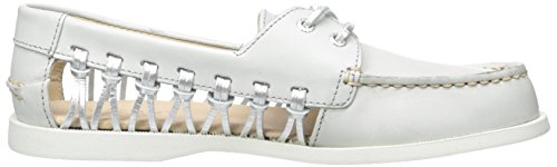 Sperry Top-Sider A/O Haven Lthr, Chaussures Bateau Femme Gris (Light Grey)