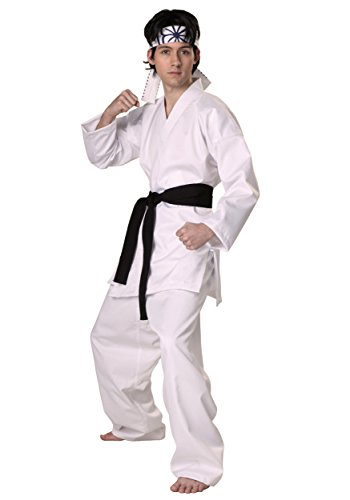 Authentic Karate Kid Daniel San Fancy dress costume ()