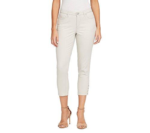 Bandolino Women's Lisbeth Curvy Skinny Crop Jean -