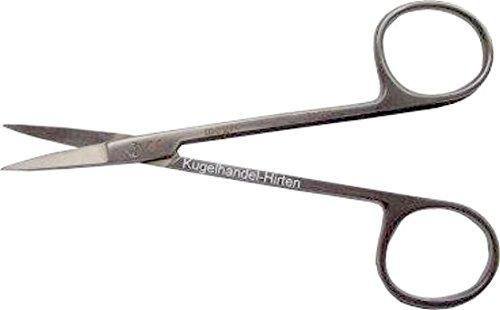 Fine chirurgico forbici punte punte forbici diverse lavorazioni - dritte 11.5cm