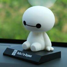 VRT Big Hero 6 Baymax Bobblehead Doll Toy Car Dashboard Accessories