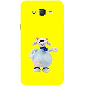 Casotec Toy Design Hard Back Case Cover for Samsung Galaxy J7