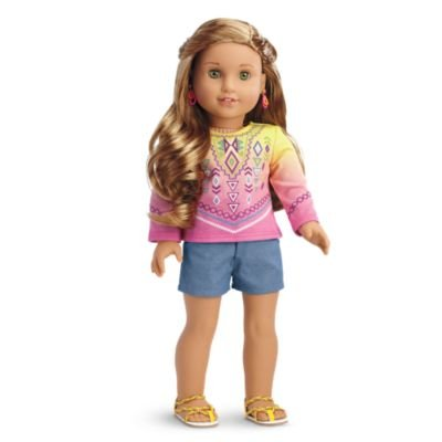 American Girl Dolls-outfits (American Girl - Lea Clark - Lea's Bahia Outfit for Dolls for Dolls - American Girl of 2016 by American Girl)