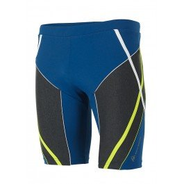 Aqua Sphere Aston Mens Jammer - Royal Blue/Light Green 38