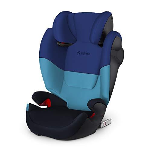 Siège auto Cybex Group 2/3 Solution M-Fix, pour voitures avec et sans ISOFIX, 15-36 kg, de 3 à 12 ans, Blue Moon