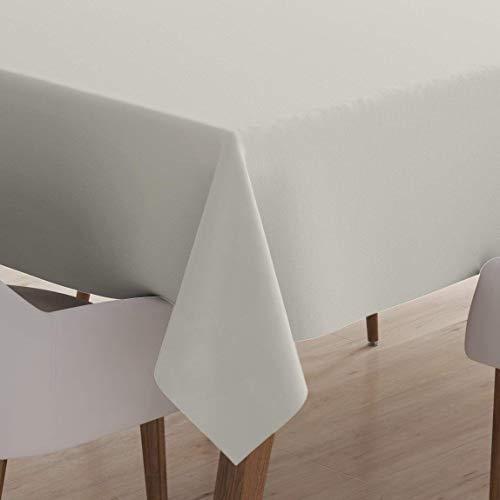 Encasa Tovaglia da tavola Homes in Cotone per 6 posti 142cm x 230cm