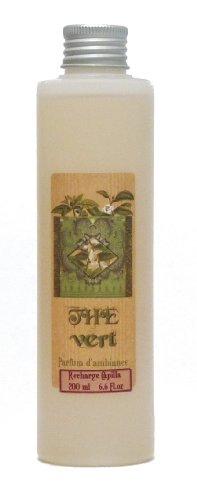 Provence et Nature: Recharge pour Diffuseur de Parfum avec Tiges - Parfum: Thé Vert, 200 ml