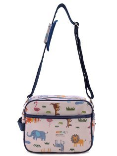 Kids going to kindergarten bag shoulder bag across savannah animal parade (generation) made in Japan N0519000 (japan import)