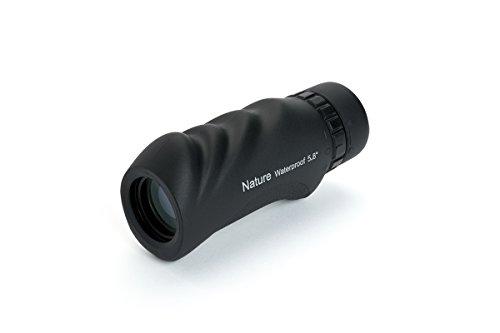 Celestron Nature 10x25 - Monocular de 25 mm diámetro, Factor de Aumento 10x, Resistente al Agua, Color...