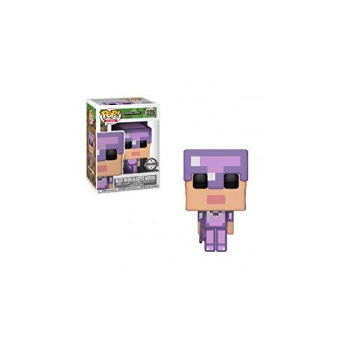 Funko - Figurine Minecraft - Alex In Enchanted Armor Exclu Pop 10cm - 0889698264198