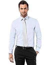 2a95f88525 Amazon.it: camicia lino uomo coreana - Camicie classiche / Camicie ...