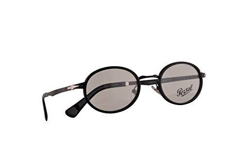 Persol 2452-V Brillen 50-21-145 Schwarz Mit Demonstrations Gläsern1078 PO 2452V PO2452V PO2452-V