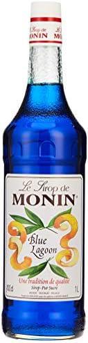 Le Tirop De Monin Le Tirop Monin Blue Lagoon Syrup, 1 Litre