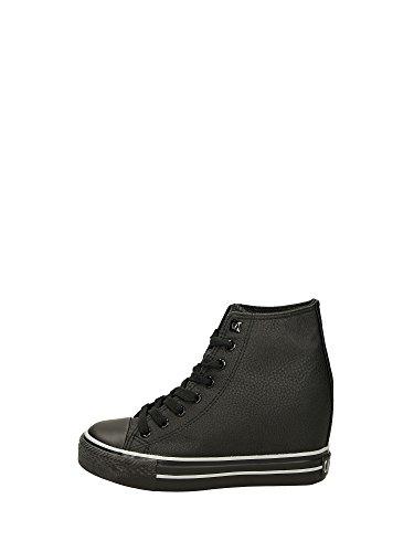 Sneaker con zeppa interna Cafè Noir DG916 Nero