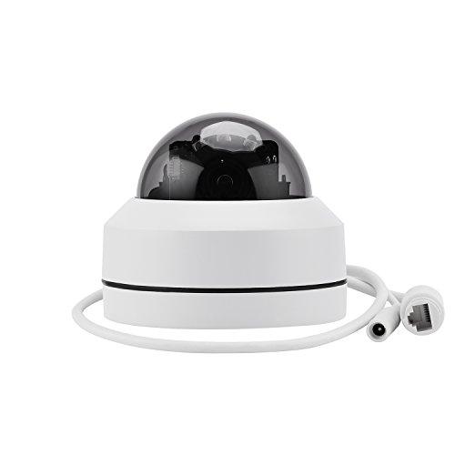Galleria fotografica SIBO® HD 1080P MINI PTZ da 2,5 pollici ONVIF Outdoor IP66 Telecamere a cupola di sicurezza in alluminio con IP ottico 3x Zoom ottico Pan / Tilt IR motorizzato Carino Day / Night Vision SB-MG03AR-1080P