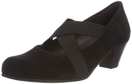 Gabor Shoes Damen Comfort Basic Pumps, (Schwarz 47), 37.5 EU
