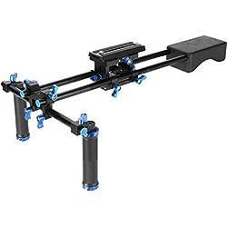 Morros Pro DSLR Rig épaule de montage banc Stabilisateur Pour DSLR et Caméscopes