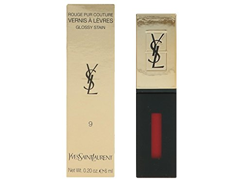 yves-saint-laurent-pur-couture-vernis-a-levres-glossy-stain-number-09-rouge-laque-6-ml
