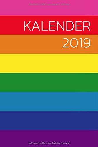 Kalender 2019: Gay Kalender 2019 Planer mit Verschiedenen To Do Listen, Agenda, Organizer, Kontakten