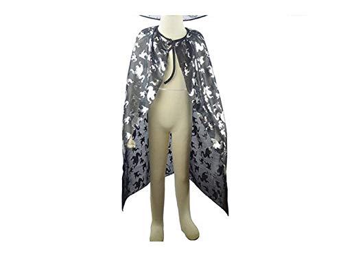 FERFERFERWON Partydekorationen Weihnachten Kostüme Long Ghost Cape Halloween Masquerade Umhang für Kinder (Silber) Requisiten (Tiger Kostüm Geist Halloween)