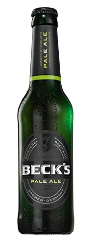 12 Flaschen a 0,33l Beck´s Pale Ale 6,3 vol. obergäriges Bier englischen Stils Premium inc. 0.96€ Pfand