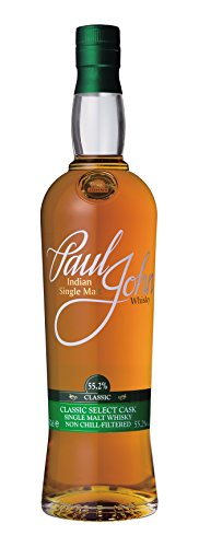 Paul John CLASSIC Select Cask Indian Single Malt Whisky (1 x 0.7 l)