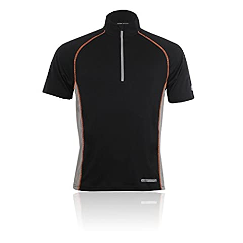 Higher State Half Zip Short Sleeve Running T-Shirt - X