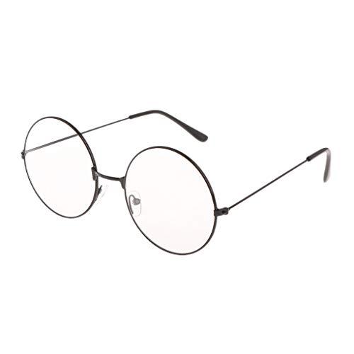 Vivianu Runde Brille Vintage HP, Cosplay Prop, Schulaktivitäten für Kinder, Frauen und Männer ()