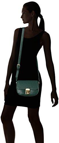 Trussardi Jeans 75b00196-1y090122, Borsa a Tracolla Donna, 31 x 19 x 7 cm (W x H x L) Verde