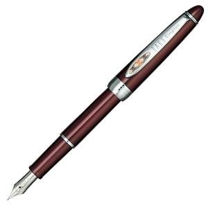 daks-ducks-rusty-rear-red-fountain-pen-fine-print-f-66-1135-230-japan-import