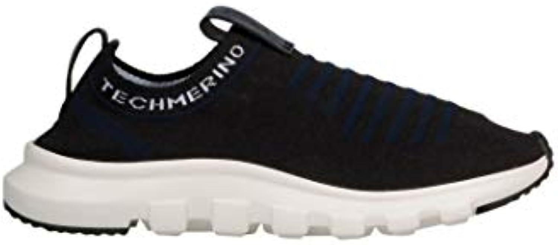 Z ZEGNA Slip On scarpe da ginnastica ginnastica ginnastica Uomo A4185XSTENAV Lana Blu | La qualità prima  837fd6
